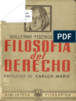 7.FilosofiaDelDerecho Federico HEGEL