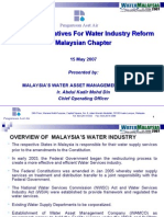 Financial Initiatives for Water Industry Reform