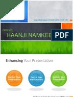 Haanji Presentation
