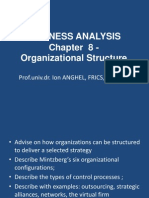 Curs 8 ACCA Organizational Structure 2014