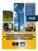 Telescopic Crank & Spindle Masts and Military Trailers Product Brochure