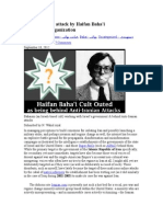 Iranians Under Attack by Haifan Bahai Propaganda Organization
