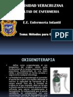 Metodos de Oxigenoterapia