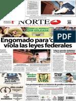 Periódico Norte edición impresa día 30 de enero 2014