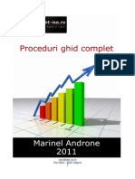 Proceduri Ghid Complet