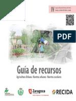 Guía de recursos agricultura urbana, huertos urbanos  y huertos escolares