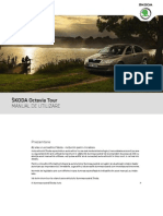 Skoda Octavia Tour Owner's Manual