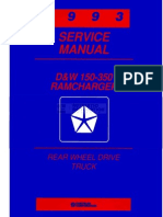 93 Dodge Truck Service Manual