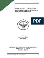 (Artikel) DESAIN MEDIA PEMBELAJARAN KOMIK SERIAL FISIKA PADA MATERI HUKUM PASCAl UNTUK KELAS VIII SMP .pdf