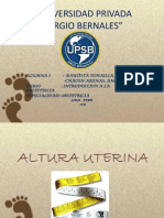 Altura Uterina