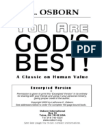 You Are Gods Best by T.L. Osborn