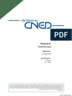 CNED Francais 6eme Integral