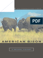 American Bison - A Natural History