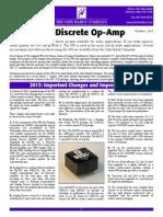 990 Discrete Op-Amp