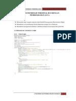 Laporan Sistem Informasi Terminal Purabaya JAVA