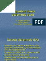 Diagnosticul durerii abdominale 2014
