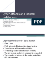Cyber Attacking -.Financial Institution