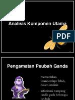 PCA SPSS software statistika