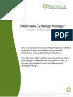 hCentive Webinsure Exchange Integration Platform