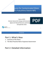 Countermeasures for Contaminated Water at TEPCO's Fukushima Daiichi NPS-1
