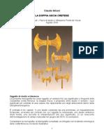 Monografia La Doppia Ascia a Creta Claudio M