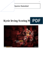 Kyrie Irving Scoring Drills