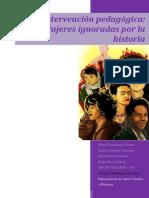 Intervención pedagógica - Mujeres ignoradas por la historia