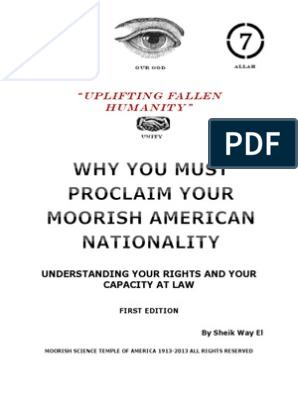 Why You Must Proclaim Your Nationality | Emancipation