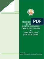Cji-speeches Madras High Court
