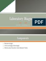 Lec 1 Laboratory Diagnosis