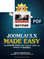 Joomla 3.x Made Easy
