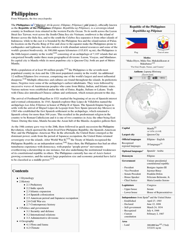 Philippines history philippines politics general fandeluxe Image collections