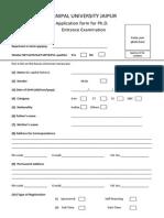 App Form PhD Entrance June-2013