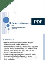 Korosi Dan Degradasi Material