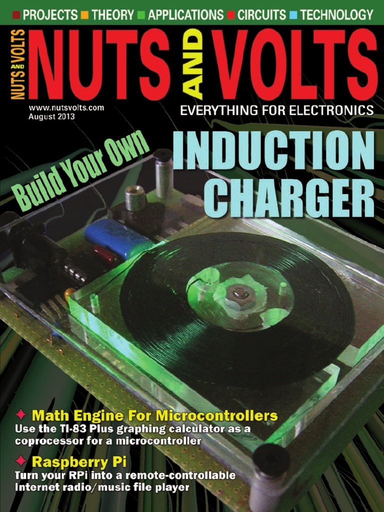 Nuts And Volts No08 August 2013 Fuel Injection Usb Electronic Circuit Board Cleaner Spray Can Jaycar Electronics New