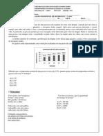 Avaliação Diagnóstica - 7º ano