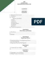 The karnataka registration manual