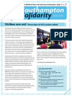 Southampton Solidarity Issue 1