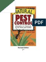 Natural and Organic Pest Control