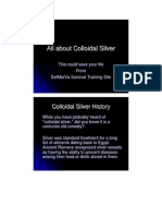 All About Colloidal Silver