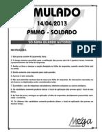 Simulado Pmmg Soldado 14.04.13