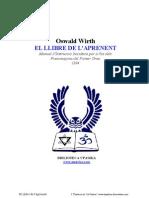 """""""El Llibre de l'Aprenent"""" - Oswald Wirth"""