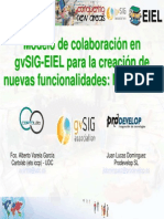 Presentacion GvSIG EIEL MapSheets