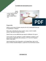 Ingredientes y preparación de los Alfajores de manjar blanco
