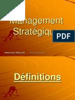 Management Strategique Cours Fsjes s6