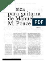 Andres Segovia - Manuel Ponce