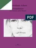 Ackers, Maximiliane –  Freundinnen