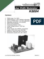 Manual K8004