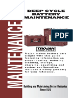 Trojan Deep Cycle Battery Maintenance