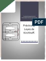 Practica Leyes de Kirchhof